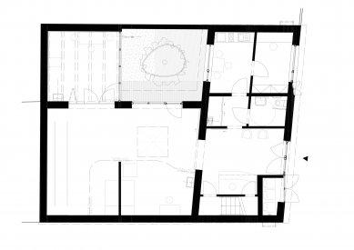 Protetické centrum - Půdorys přízemí - foto: Rusina Frei architekti