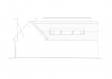 Protetické centrum - Jihozápadní pohled - foto: Rusina Frei architekti