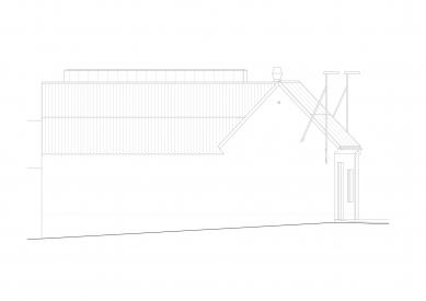 Protetické centrum - Severovýchodní pohled - foto: Rusina Frei architekti