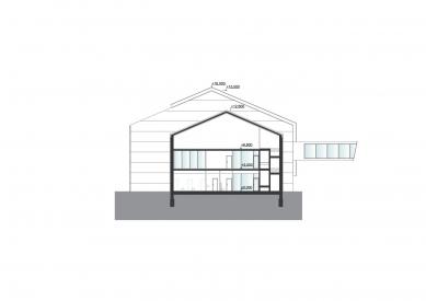 Montážní hala TMT - Řec c-c' - foto: med : pavlík architekti