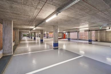Parkovací dům Jana Gayera - foto: architekti chmelík & partneři
