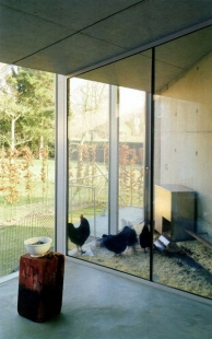 Hedge House - Kurník v galerii - foto: © Wiel Arets Architect & Associates