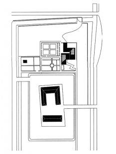 Hedge House - Situace - foto: © Wiel Arets Architect & Associates