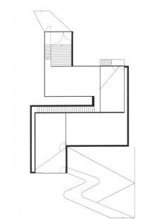 Hedge House - Půdorys přízemí - foto: © Wiel Arets Architect & Associates