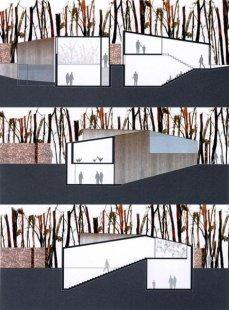 Hedge House - Řezy - foto: © Wiel Arets Architect & Associates