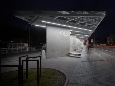Autobusové nádraží ČAD Blansko - foto: KIVA - Vladimír Novotný