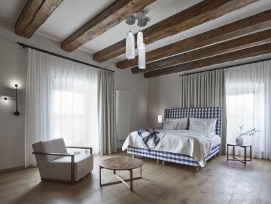 Rekonstrukce barokní sýpky ve Velkých Pavlovicích – Hotel Lotrinský - foto: KIVA - Vladimír Novotný