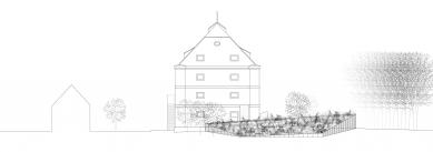 Rekonstrukce barokní sýpky ve Velkých Pavlovicích – Hotel Lotrinský - Pohled severní