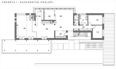 Rodinný dům manželů Ungerových - foto: Architektonická projekční kancelář – Pavel Mudřík