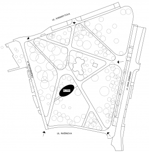 Obnova parku Stromovka - Situace