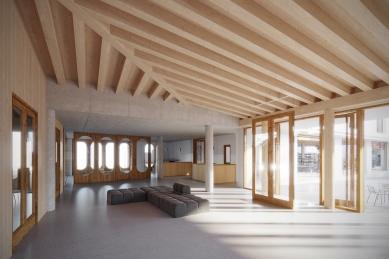 Spolkový dům Otava v Horažďovicích - Foyer - foto: Aoc
