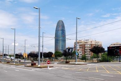 Torre Agbar - foto: Petr Šmídek, 2008