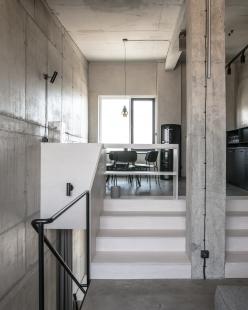 Loftový byt v Mlynici - foto: Lousy Auber, www.jakubmarkech.com