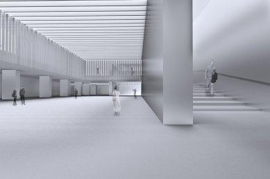Centre Pompidou Málaga  - Vizualizace