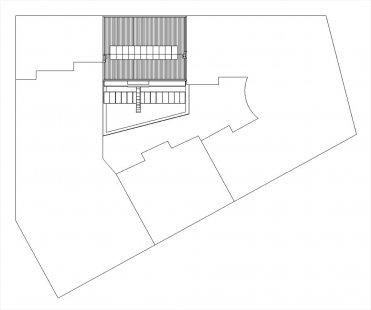 Rekonstrukce a dostavby objektu Závěrka 3 - situace - foto: 4A architekti