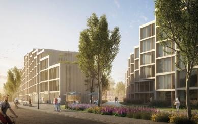 Residence Nádraží Žižkov - Severní vstup - foto: RA15/Benthem Crouwel Architects