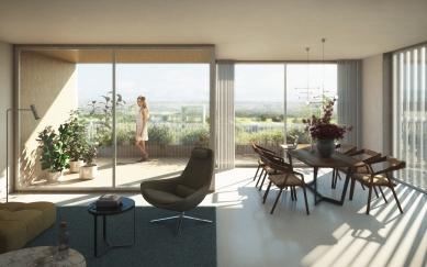 Residence Nádraží Žižkov - Vzorový byt - foto: RA15/Benthem Crouwel Architects