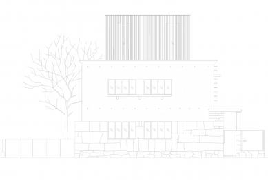 Villa 3 Shoebox - Jižní pohled - foto: OFIS arhitekti