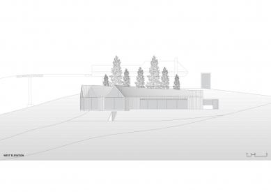 Horská chata Oberholz - Západní pohled - foto: Peter Pichler Architecture