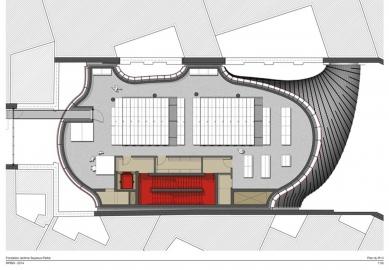 Sídlo nadace Jérôme Seydoux-Pathé - Level 3 - foto: Renzo Piano Building Workshop