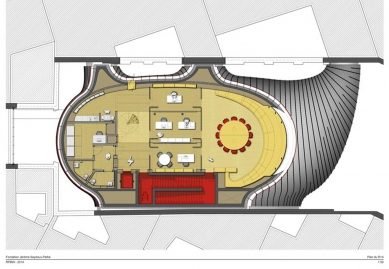 Sídlo nadace Jérôme Seydoux-Pathé - Level 4 - foto: Renzo Piano Building Workshop