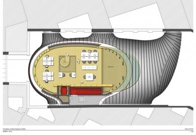 Sídlo nadace Jérôme Seydoux-Pathé - Level 5 - foto: Renzo Piano Building Workshop