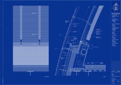 Sídlo nadace Jérôme Seydoux-Pathé - Detail fasády - foto: Renzo Piano Building Workshop