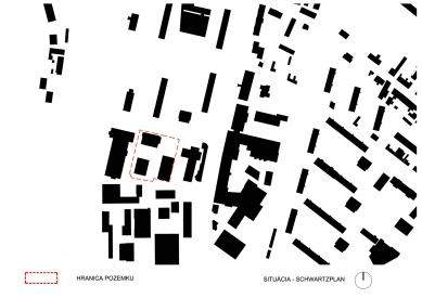 Obytný súbor Ahoj park - Situace - foto: Compass Architekti