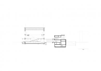 James Simon Gallery - Příčný řez - foto: David Chipperfield Architects Berlin