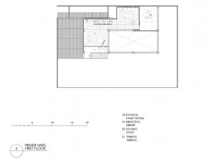 Casa 3:2 - Půdorys 2NP