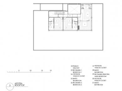Casa 3:2 - Půdorys 3NP