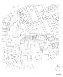 Love2 House - Situace - foto: Takeshi Hosaka Architects