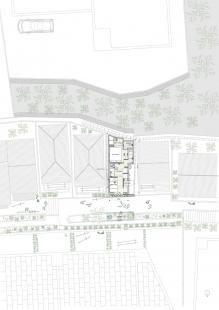 Love2 House - Půdorys - foto: Takeshi Hosaka Architects