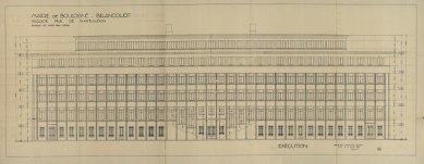 Radnice vBoulogne-Billancourt - Zadní pohled