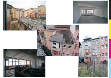 CMYK hostel - Původní stav
