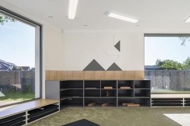 Montessori školka v Klecanech - foto: Studio Flusser