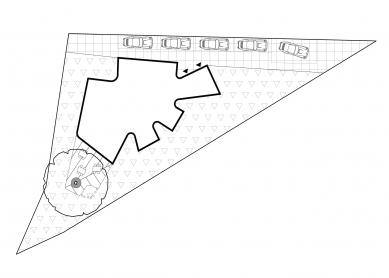 Montessori školka v Klecanech - Situace