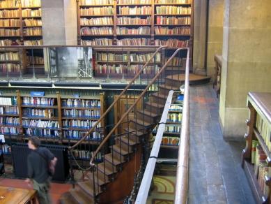 Knihovna svaté Jenovéfy - foto: Emil Přikryl, 2004