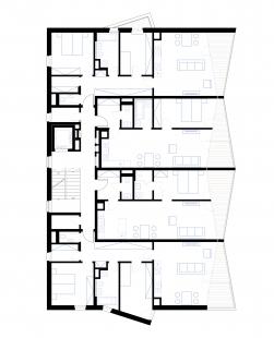 Bytový dům Corso Beroun - Půdorysy typického podlaží