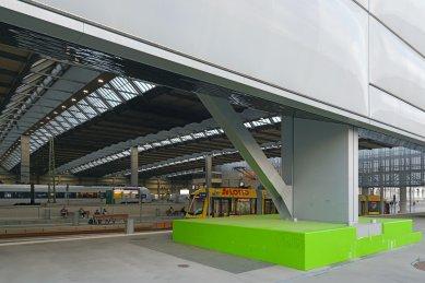 Přestavba hlavního nádraží v Saské Kamenici - foto: Petr Šmídek, 2019