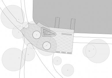 Mercandinovy sady - 1. etapa - Půdorys mola - foto: CHVOJKA/architekt