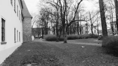 Vrchlického sady - Fotografie původního stavu - foto: CHVOJKA/architekt