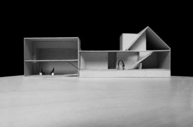 Rodinný dům Rousínov - Fotografie modelu - foto: studio NEW WORK