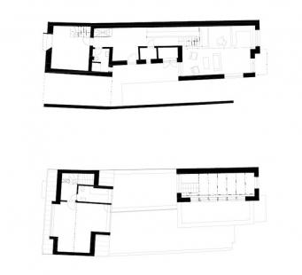 Rodinný dům Rousínov - Půdorysy - foto: studio NEW WORK