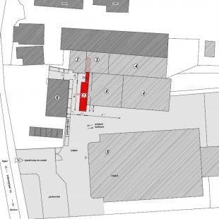 Přístavba administrativní budovy