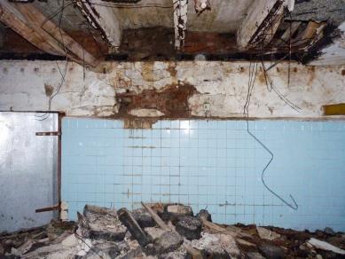 Bývalá Výrobna uzenin - Fotografie původního stavu - foto: Atelier Hoffman