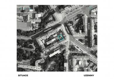 Bývalá Výrobna uzenin - Situace - foto: Atelier Hoffman