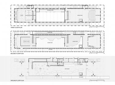 Chile Pavilion at Expo Milan 2015 - Půdorysy - foto: Undurraga Deves Arquitectos