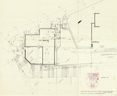 Rodinný dům architektky Růženy Žertové - Situace