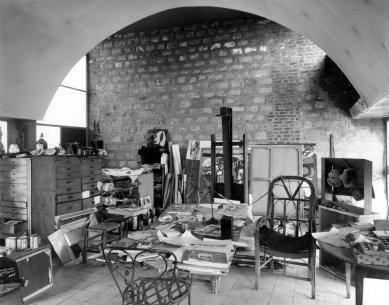 Le Corbusierův byt s ateliérem - Historický snímek